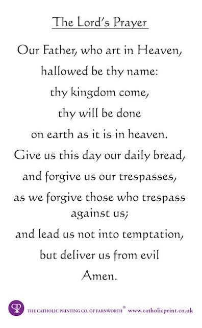 graphic about Printable Copy of the Lord's Prayer named The Joyce Challenge : Ulysses : Our dad